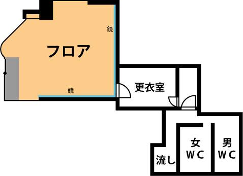 秋葉原 スタジオ見取り図 設備