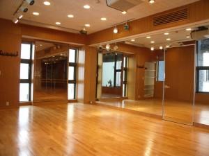 原宿 山手線  ダンス スタジオ