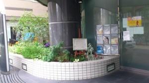 秋葉原スクエアスタジオ 花壇 看板