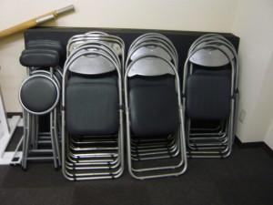 パイプ椅子 スタジオ 備品